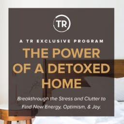 Image of the power of a detoxed home program that's in the mobile community health app.